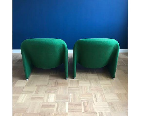 Ensemble de 2 fauteuils Alky de Giancarlo Piretti pour Castelli