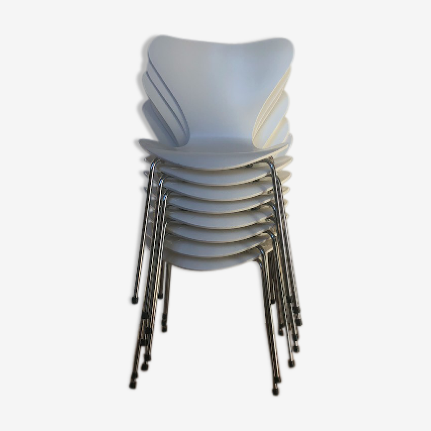 Lot de 8 chaises Série 7 par Arne Jacobsen pour Fritz Hansen