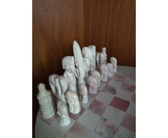 Echequier marbre