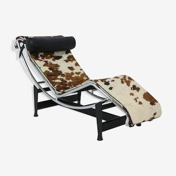 Table Le Corbusier LC6 Vendu Chaise Longue LC4