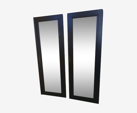 Paire de miroirs - 134x49cm