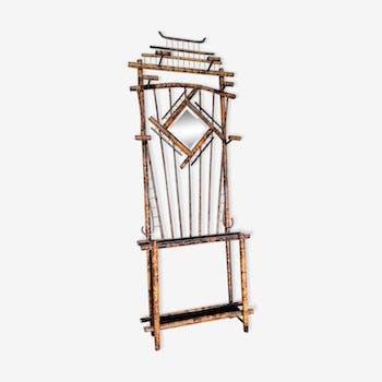 Porte manteaux vintage en bambou