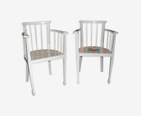 Paire de fauteuils pour enfant
