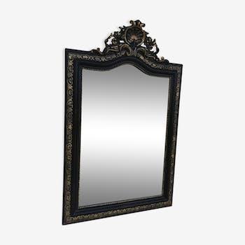 Mirror time Napoleon III 73x128cm