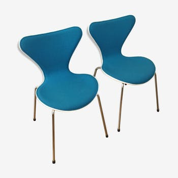 Pair of chairs 7 Fritz Hansen series