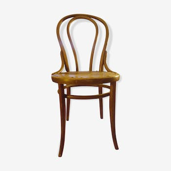 Chaise bistrot thonet assise bois