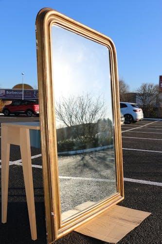 Miroir doré 100x160cm