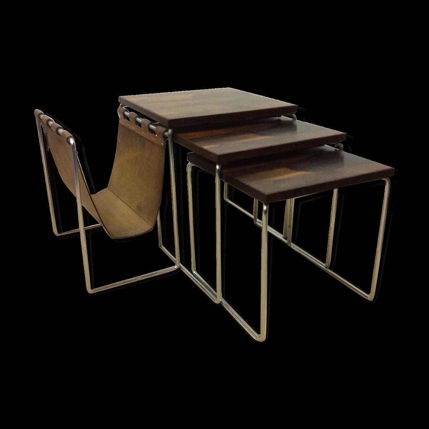 table basse gigogne vintage bols de service gigognes. Black Bedroom Furniture Sets. Home Design Ideas