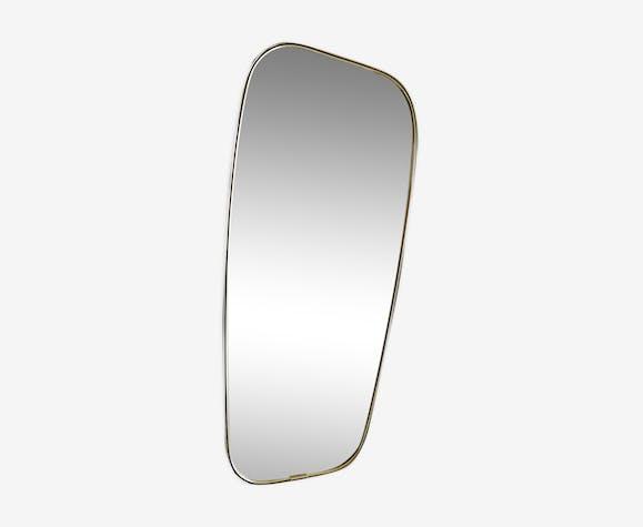 Miroir asymétrique forme libre vintage 50/60
