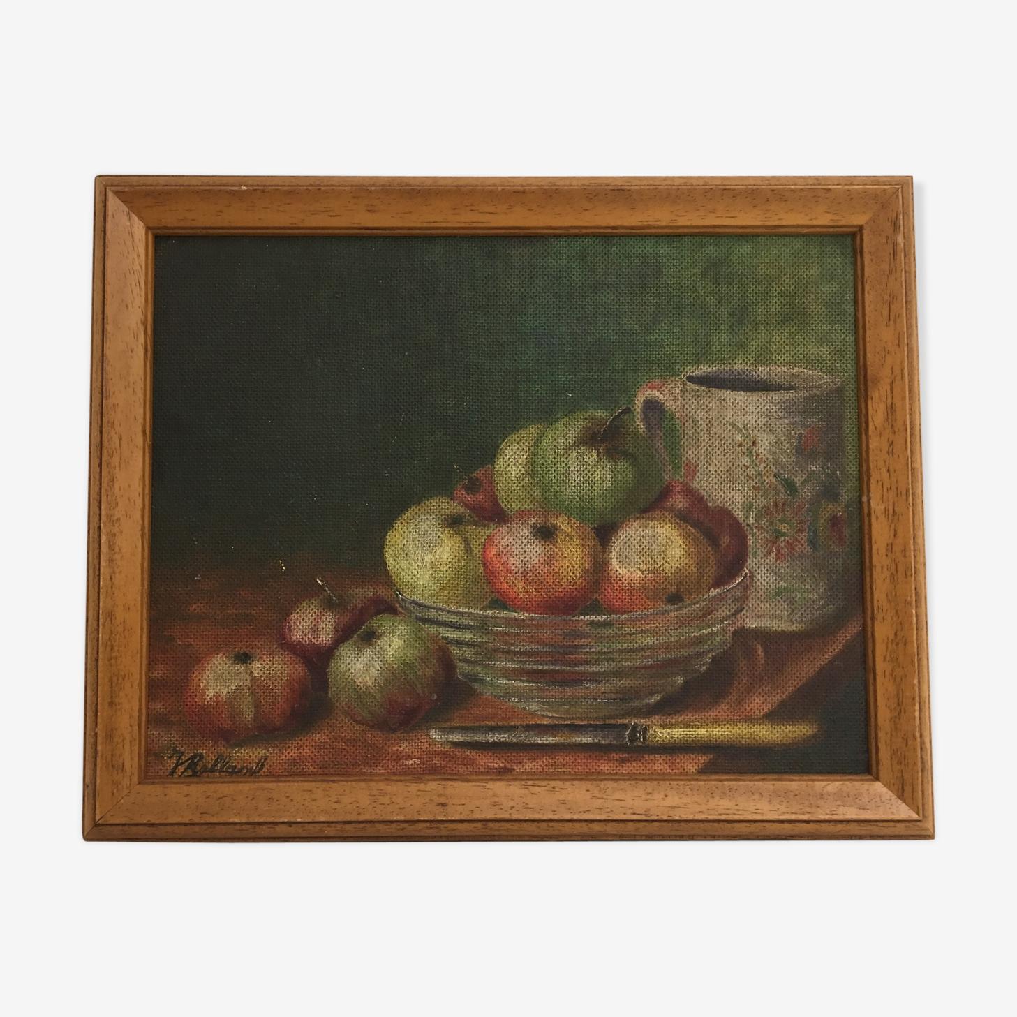 Tableau de pommes & fruits
