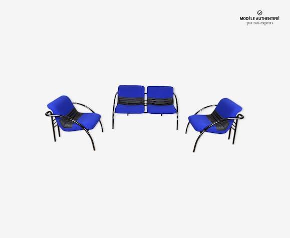 Salon Airborne fauteuils & canapé 1980/1990
