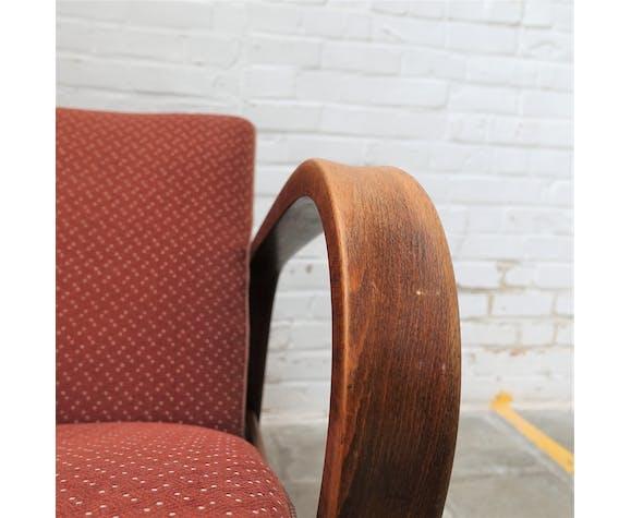 Ensemble de 2 fauteuils et table basse Kozelka et Kropacek