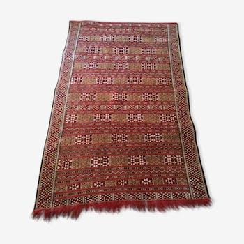 Moroccan kilim rug 185x113cm