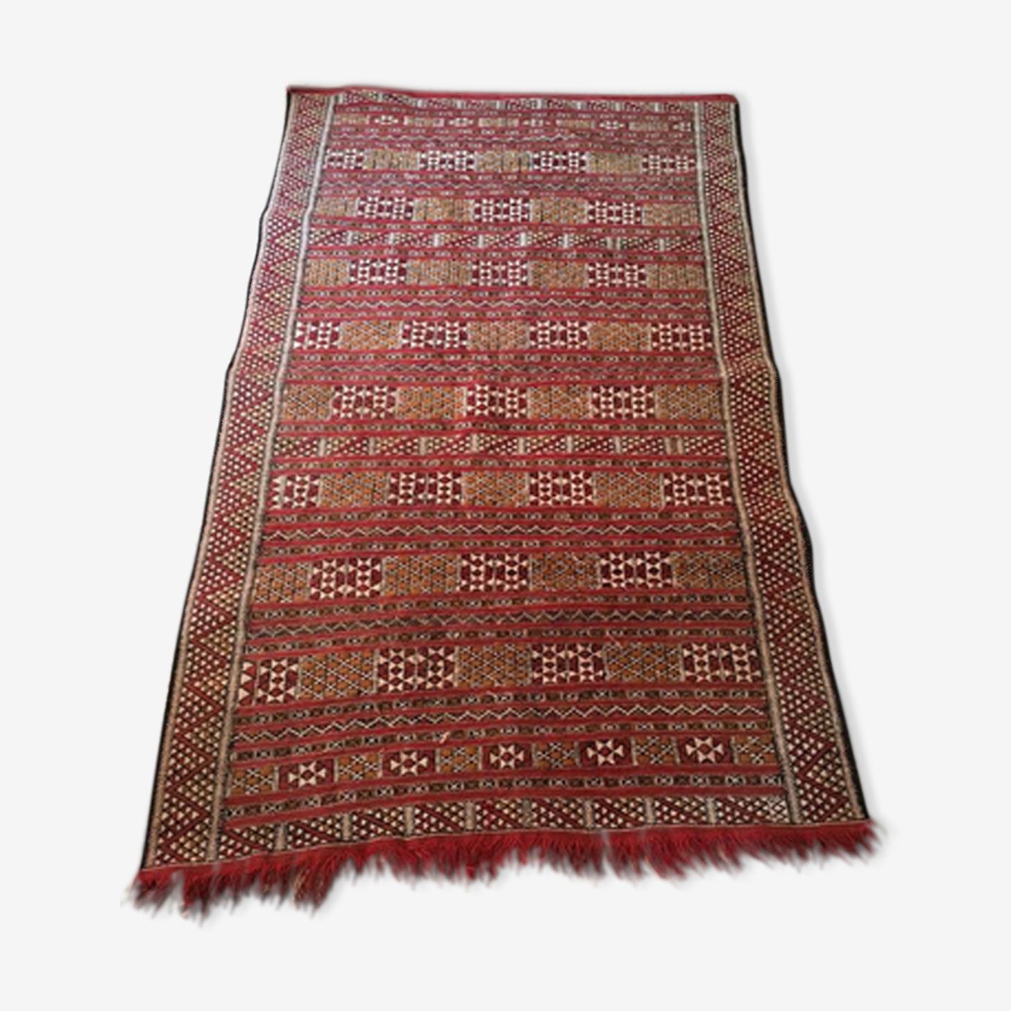 Tapis kilim marocain 185x113cm