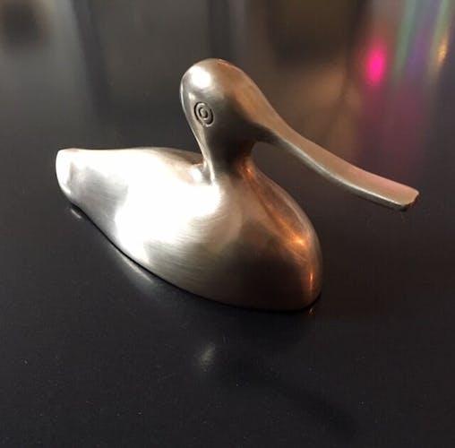 Brass duck