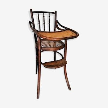 chaise thonet pour enfant bois mat riau art d co 4547. Black Bedroom Furniture Sets. Home Design Ideas