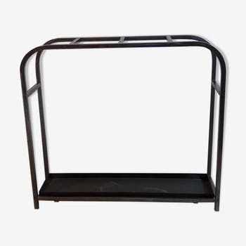 porte parapluie cuivre et laiton poign e fa ence vintage des ann es 40 cuivre orange. Black Bedroom Furniture Sets. Home Design Ideas