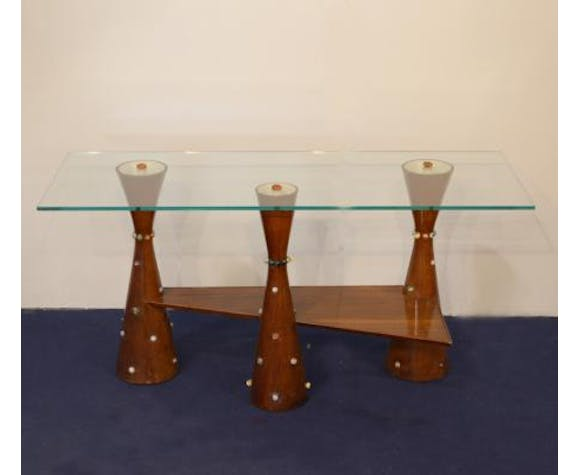 Mid-Century Coffee Table by Mino Lusignoli, 1940s