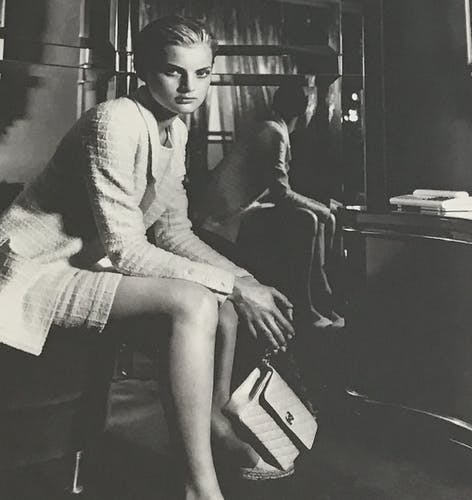 Chanel, collection 1996/1997, photo de Karl Lagerfeld