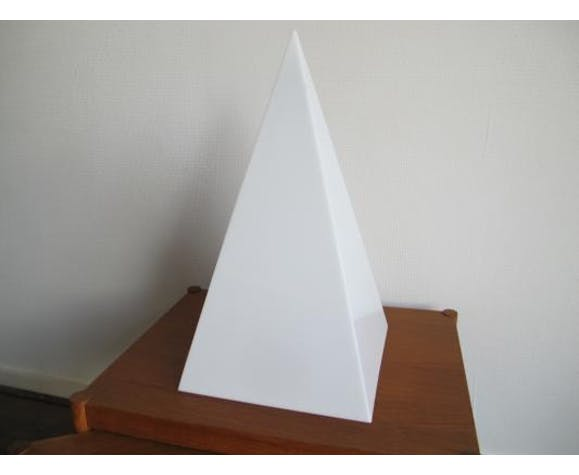 Set of 2 lamps pyramids