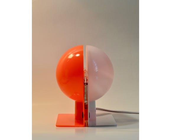 Lampe de table Harvey Guzzini Sirio, années 1970