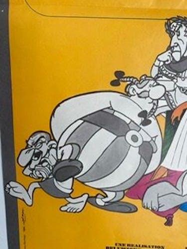 Affiche de cinéma originale Astérix et Cleopatre année 1968