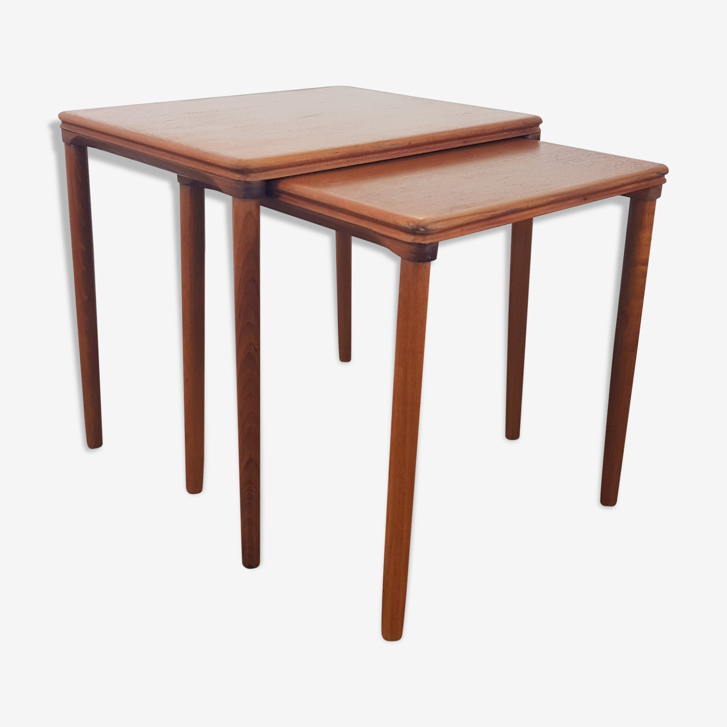 2 pull out tables by E W Bach for Mobelfabrikken Toften, 1960