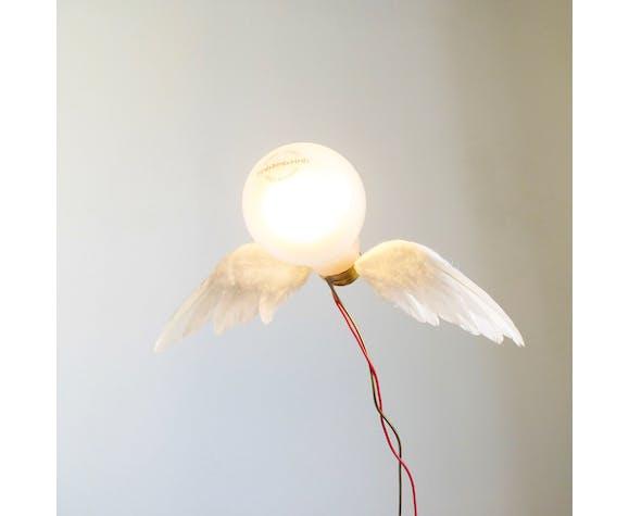 """Iconic Ingo Maurer """"Lucellino"""" table lamp by Ingo Maurer GmbH (Design M), 1992"""