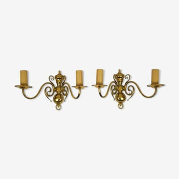 Pair of wall light Dutch style
