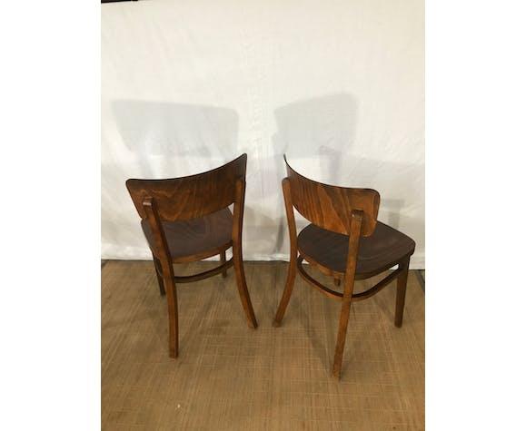 Chaises bistrot vintage Thonet