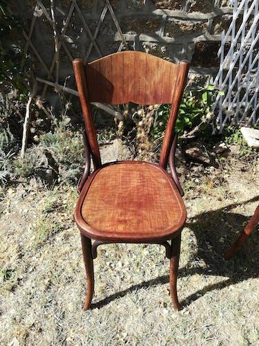 4 chaises Baumman années 1936