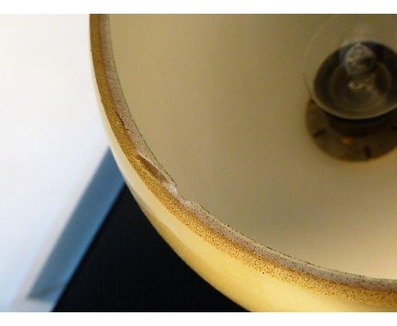 Lampe à poser en opaline Jean Paul Edmonds pour Philips, des années 70