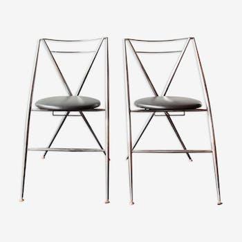 Paire de chaises modèle Cinderalla de Yamakato