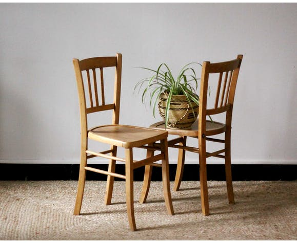 Pair of Luterma bistro chairs