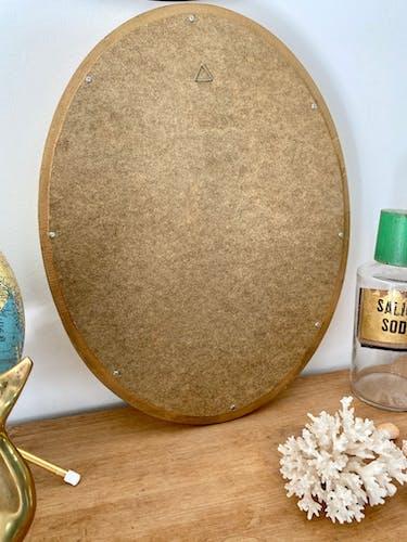Miroir doré 47x37cm