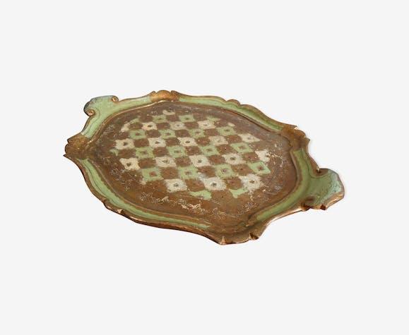 Florentine wooden tray