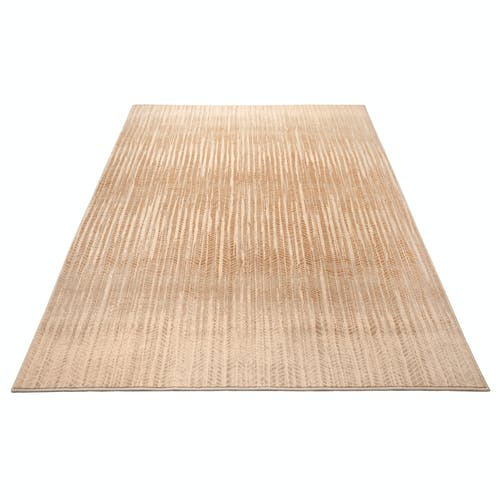 Tapis design terre d'ombre 2x3