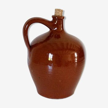 Pitcher in old stoneware