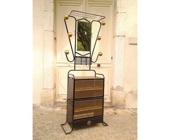 Coat rack, vintage service 50s