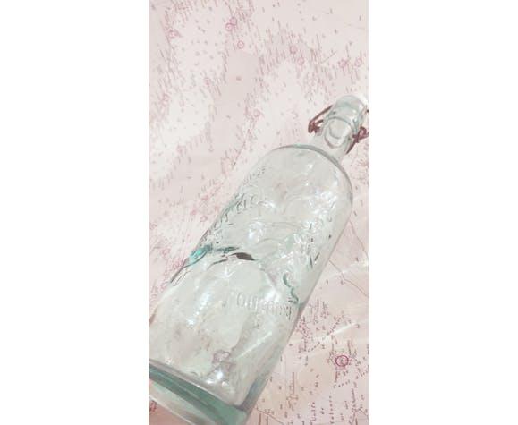 Former bottle of lemonade