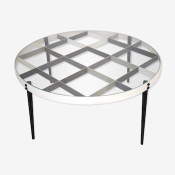 Coffee table Gio Ponti D.555.1 for Molteni&C