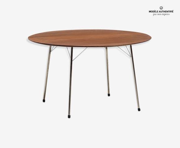 Table à manger par Arne Jacobsen pour Fritz Hansen, 1950