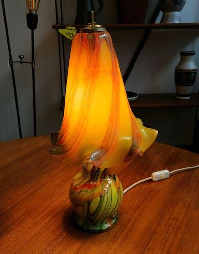 Lampe en verre Murano, 1960