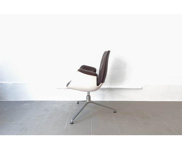 Paire de fauteuils du milieu du siècle par Preben Fabricius & Jørgen Kastholm pour Kill International, 1960