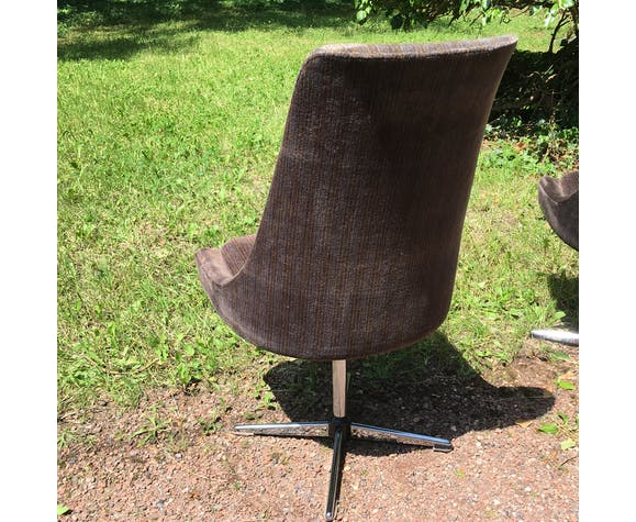 Set of 4 chairs vintage hull