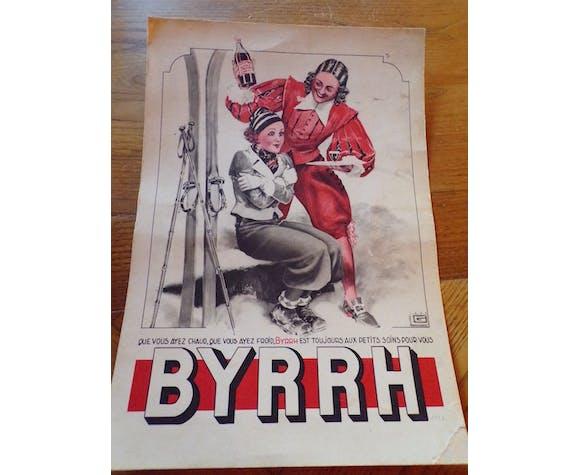 Advertising poster Byrrh 1936