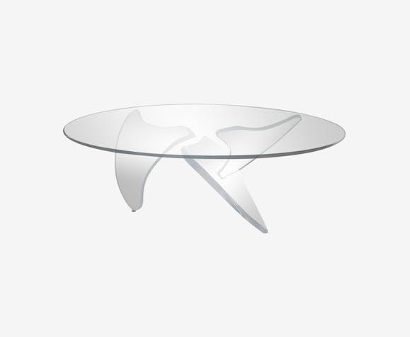 Table basse de Knut Hesterberg pour Ronald Schmitt, modèle hélice K9