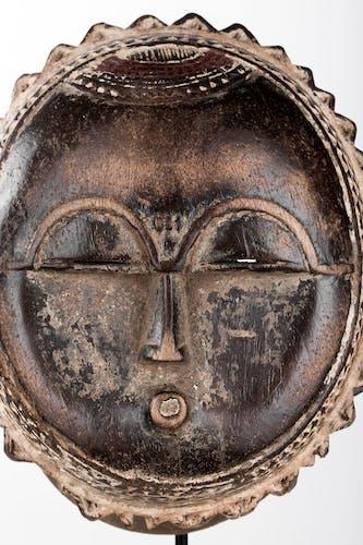 Masque Baoulé Lune Art Africain RCI