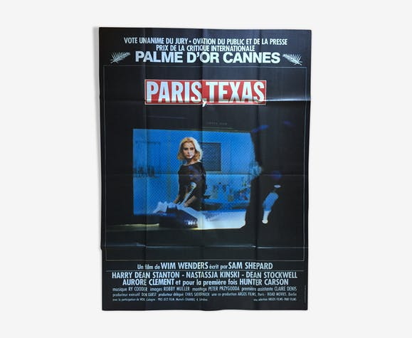 Affiche Paris Texas Wim Wenders 120x160cm
