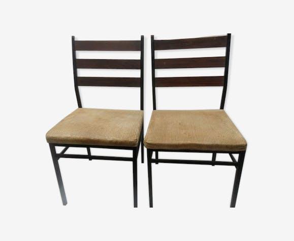 2 chaises de Cees Braakmann pour Pastoe
